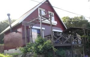 赤い山小屋サロン